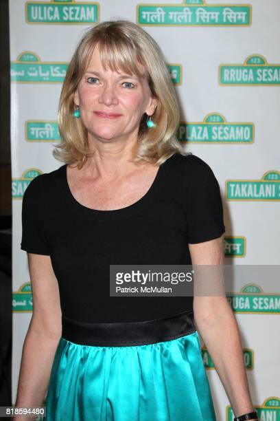 Martha Raddatz attend SESAME WORKSHOP'S 8th Annual Benefit Gala at Cipriani 42nd St on June 2nd 2010 in New York City