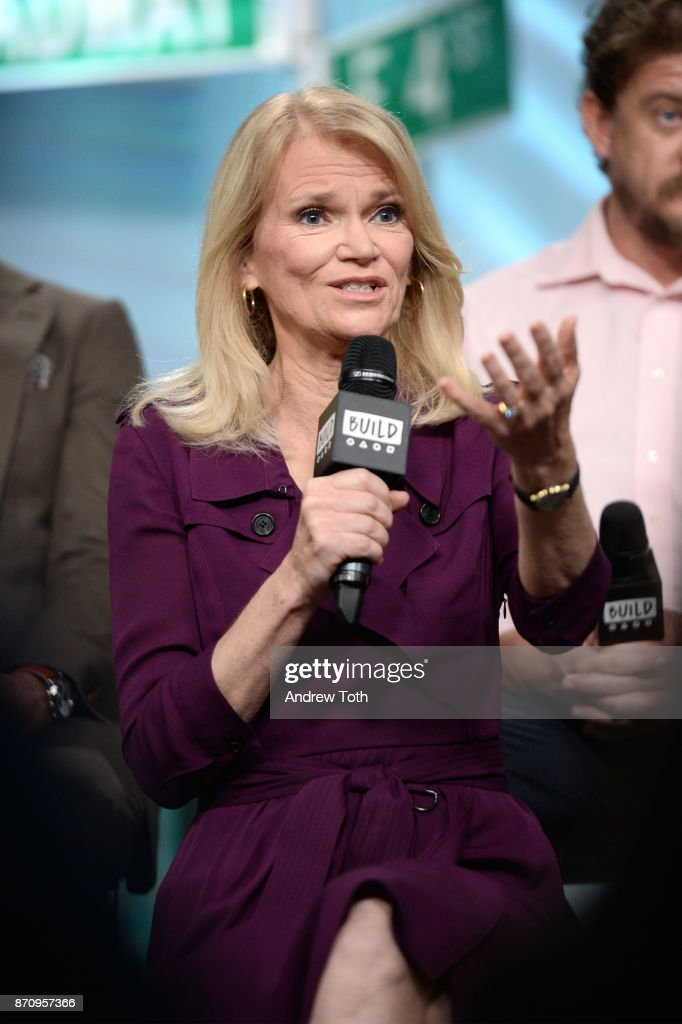 Martha Raddatz attends Build presents the cast of 'The Long Road Home' at Build Studio on November 6, 2017 in New York City.