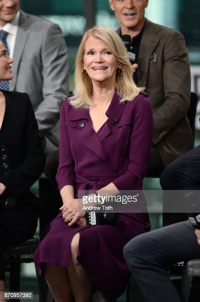 Martha Raddatz attends Build presents the cast of 'The Long Road Home' at Build Studio on November 6 2017 in New York City