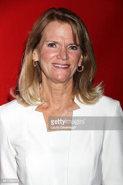 Martha Raddatz attends 'The Divide' series premiere at Dolby 88 Theater on June 26 2014 in New York City