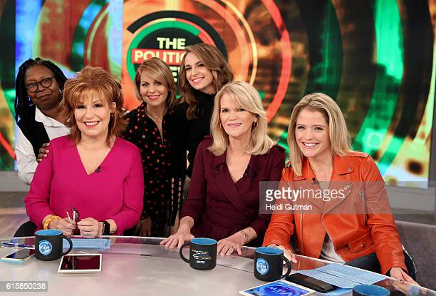 THE VIEW Martha Raddatz is the guest today Wednesday October 19 2016 on Walt Disney Television via Getty Images's The View The View airs MondayFriday...