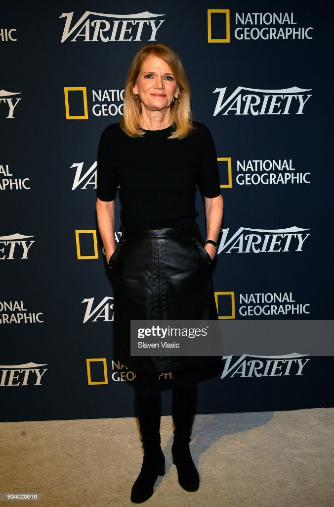 Martha Raddatz visits Variety's inaugural 'Salute To Service' at Cipriani 25 Broadway on January 11, 2018 in New York City.