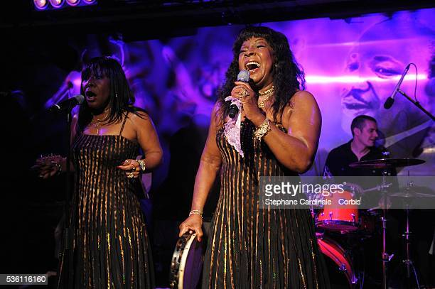 Martha Reeves performing during the Opening Party of the Black Legend Club in Monaco