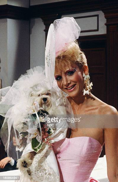 LIVES 'Martha Reggie Dog Wedding' Pictured 'Martha' the dog Arleen Sorkin as Calliope Bradford Photo by Gary Null/NBCU Photo Bank via Getty Images