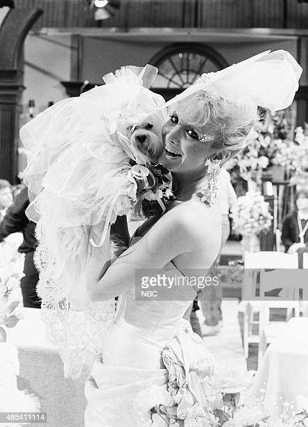LIVES 'Martha Reggie Dog Wedding' Pictured 'Martha' the dog Arleen Sorkin as Calliope Bradford