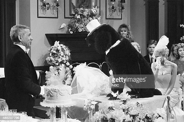 LIVES 'Martha Reggie Dog Wedding' Pictured Robert Clary as Robert LeClair 'Martha' the dog 'Reggie' the dog Arleen Sorkin as Calliope Bradford Photo...
