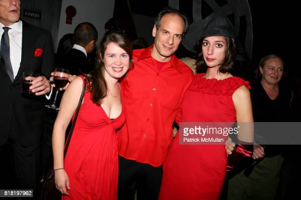 Martha Shane Mike Maggiori and Lana Wilson attend PERFORMA presents The Red Party 2010 Benefit Gala at 508 W 37th St on November 6 2010 in New York