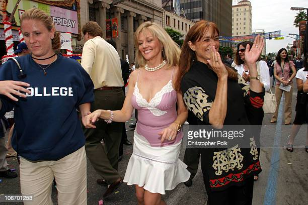 Martha Smith and Karen Allen during Animal House 25th Anniversary Ultimate Homecoming Parade DVD Release Extravaganza at Hollywood Boulevard in...