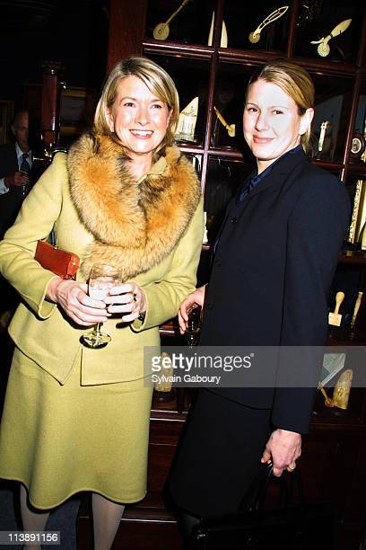 Martha Stewart Alexis Stewart during Opening Night of the 47th Annual Winter Antiques Show at 7th Regiment Armory in New York New York United States