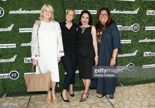 Martha Stewart Ali Wentworth Dr Joyce F Brown and Fern Mallis attend the 2018 Couture Council Award Luncheon at David H Koch Theater at Lincoln...
