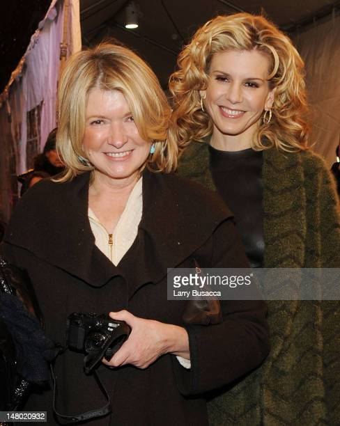 Martha Stewart and Alexis Stewart attend Paul McCartney plays World Famous Apollo Theater for first time celebrating 20 Million Sirius XM Subscribers...