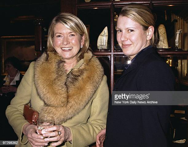 Martha Stewart and daughter Alexis are on hand for the opening of the 47th annual Winter Antiques Show at the Seventh Regiment Armory on Park Ave