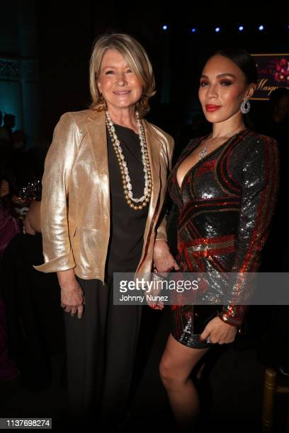 Martha Stewart and Gia Casey attend the 13th Annual HealthCorps Gala at Cipriani 25 Broadway on April 16 2019 in New York City