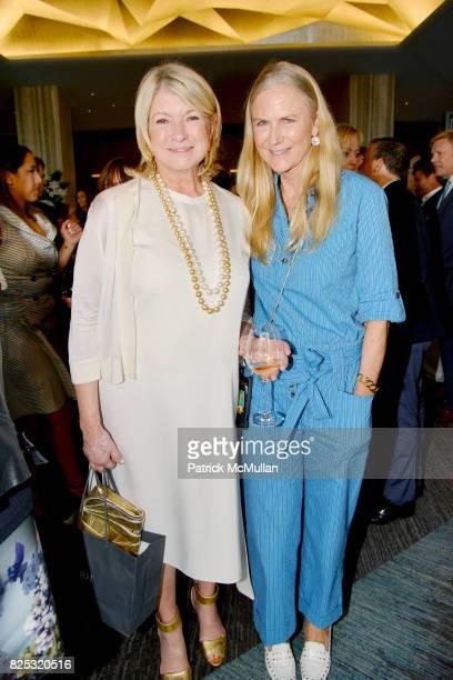 Martha Stewart and Gigi Mortimer at Magrino PR 25th Anniversary at Bar SixtyFive at Rainbow Room on July 25 2017 in New York City