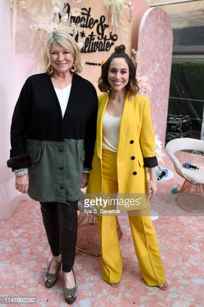 Martha Stewart and Jaclyn Johnson attend Create Cultivate New York presented by Mastercard at Industry City on May 04 2019 in Brooklyn New York