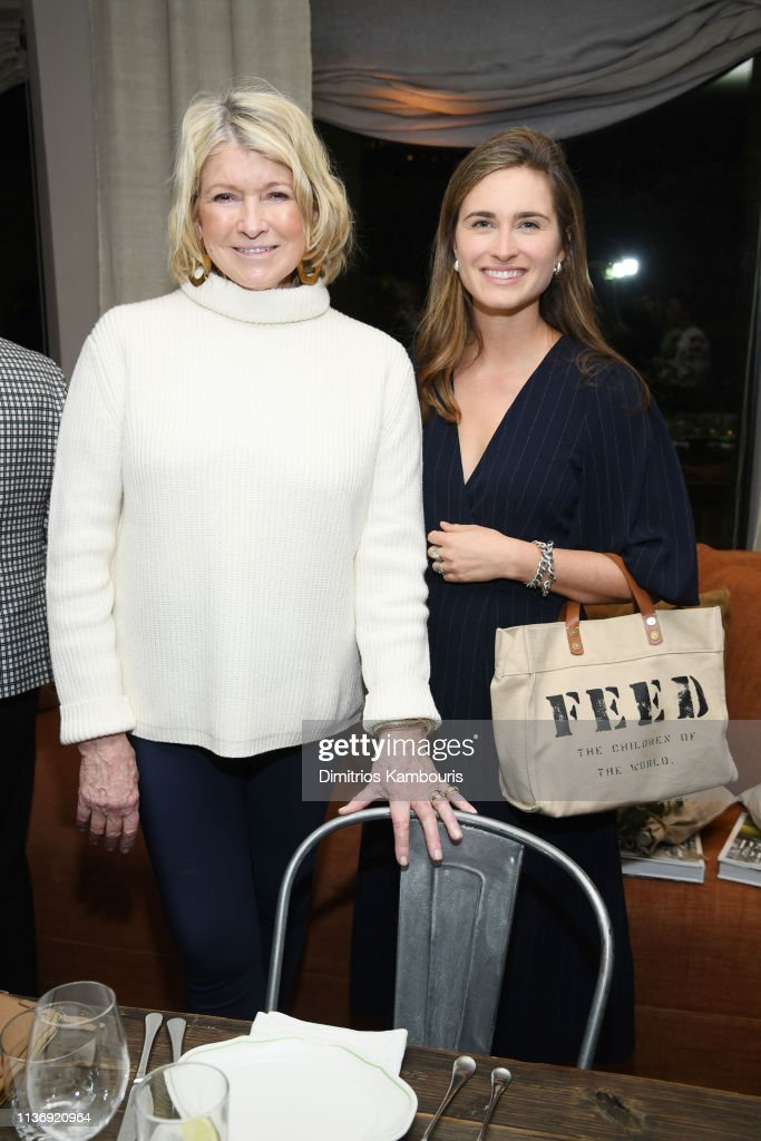 NY: Jenni Kayne & Martha Stewart Dinner To Celebrate The Launch Of Pacific Natural