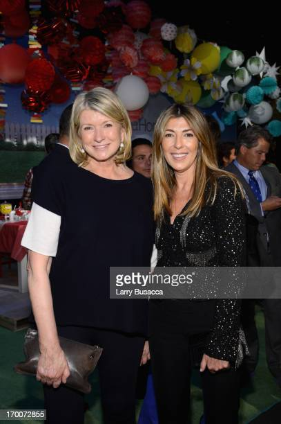 Martha Stewart and Nina Garcia attend jcpenney's launch of its new Home department featuring exclusive designer collections by Martha Stewart...