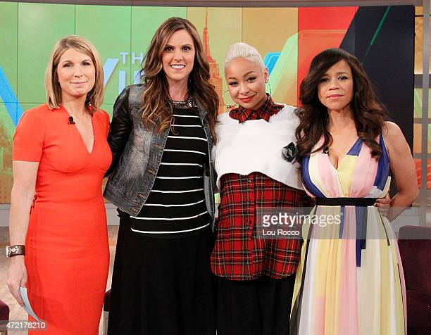 THE VIEW Martha Stewart and Raven Symone guest cohost Guests include Taya Kyle and Harry Connick Jr airing Monday May 4 2015 on Walt Disney...