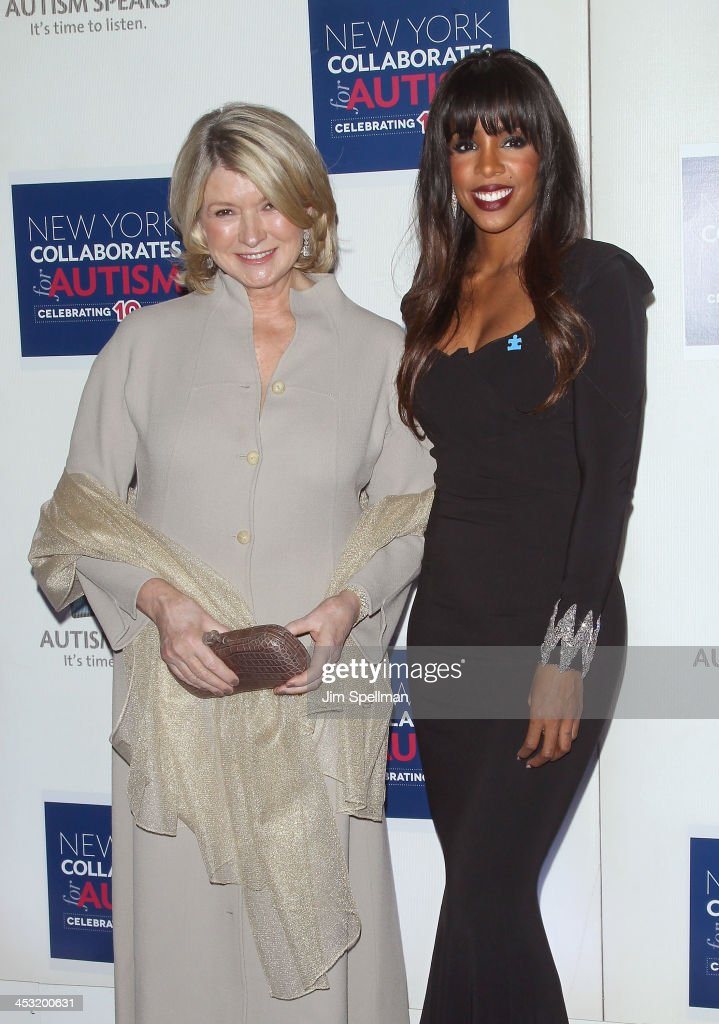 Martha Stewart and singer Kelly Rowland attend the 2013 Winter Ball For Autism the at Metropolitan Museum of Art on December 2, 2013 in New York City.