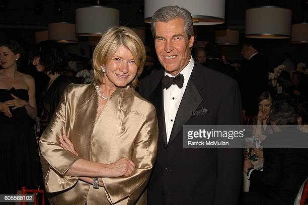 """Martha Stewart and Terry Lundgren attend The WHITNEY MUSEUM OF AMERICAN ART's 15th Annual """"American Art Award"""" at One Beacon Court & Le Cirque on May..."""