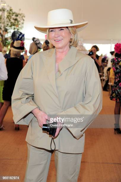 Martha Stewart at 36th Annual Frederick Law Olmsted Awards Luncheon Central Park Conservancy at The Conservatory Garden in Central Park on May 2 2018...