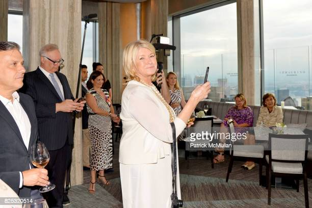 Martha Stewart at Magrino PR 25th Anniversary at Bar SixtyFive at Rainbow Room on July 25 2017 in New York City