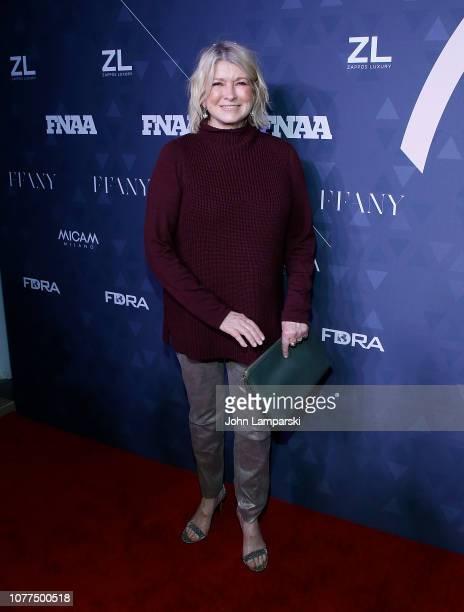 Martha Stewart attends 2018 FN Achievement Awards at IAC Headquarters on December 04, 2018 in New York City.
