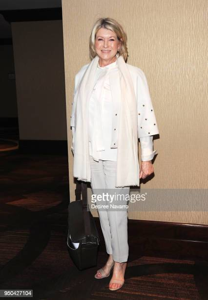 Martha Stewart attends 2018 Matrix Awards at Sheraton New York Times Square on April 23 2018 in New York City