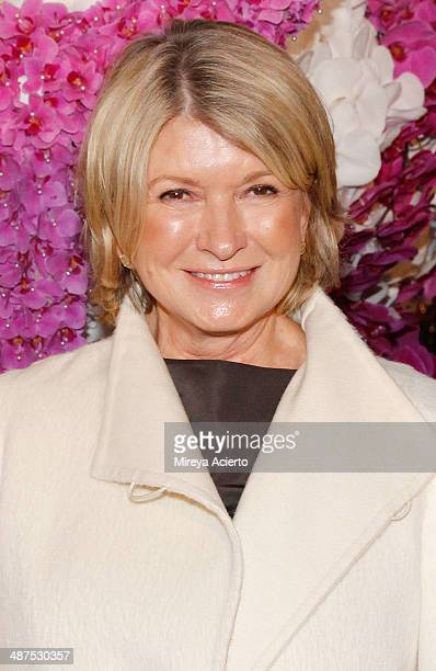 Martha Stewart attends 42nd Annual Kips Bay Decorator Show House opening night reception at The Mansion on Madison on April 30 2014 in New York City