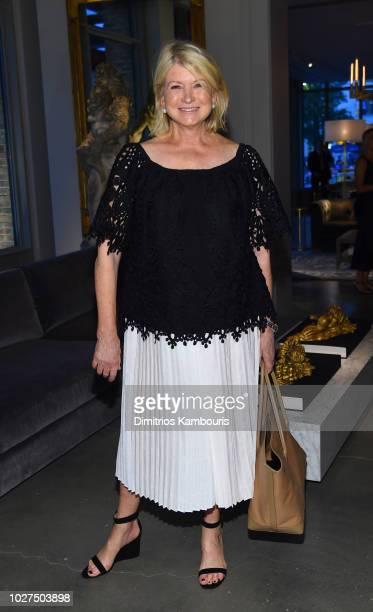 Martha Stewart attends as RH Restoration Hardware celebrates the unveiling of RH New York at Restoration Hardware on September 5 2018 in New York City