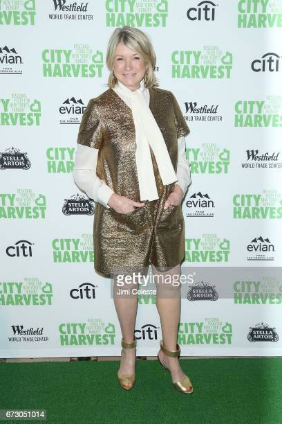 Martha Stewart attends City Harvest's 23rd Annual Gala at Cipriani 42nd Street on April 25 2017 in New York City