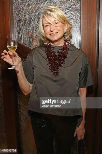 Martha Stewart attends FIU Teaching Restaurant Inaugural Dinner hosted by Mark Militello, Norman Van Aken, Allen Susser, Michelle Bernstein, Hedy...