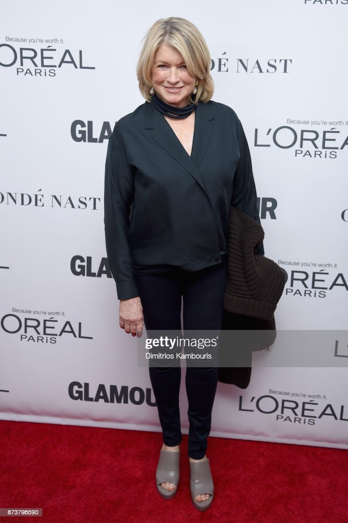 Martha Stewart attends Glamour's 2017 Women of The Year Awards at Kings Theatre on November 13, 2017 in Brooklyn, New York.