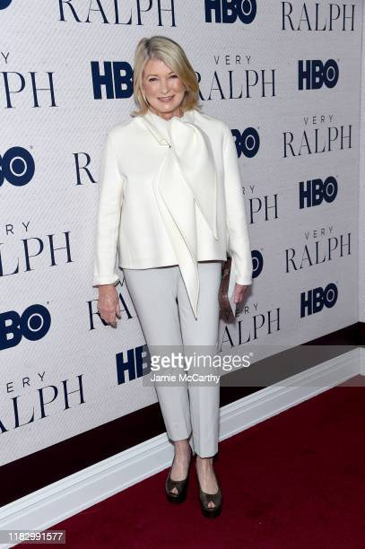 """Martha Stewart attends HBO's """"Very Ralph"""" World Premiere at The Metropolitan Museum of Art on October 23, 2019 in New York City."""