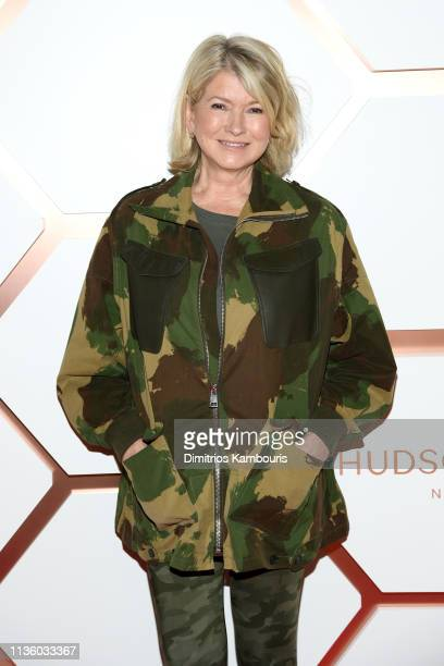 Martha Stewart attends Hudson Yards New York's Newest Neighborhood Official Opening Event on March 15 2019 in New York City