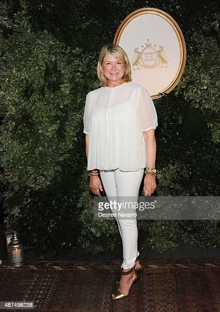 Martha Stewart attends Jessica Simpson Collection Presentation Spring 2016 New York Fashion Week on September 9 2015 in New York City