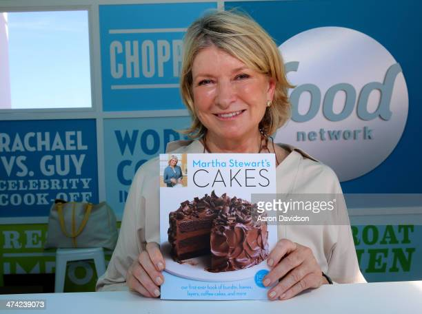 Martha Stewart attends KitchenAid® Culinary Demonstrations during the Food Network South Beach Wine Food Festival at Grand Tasting Village on...
