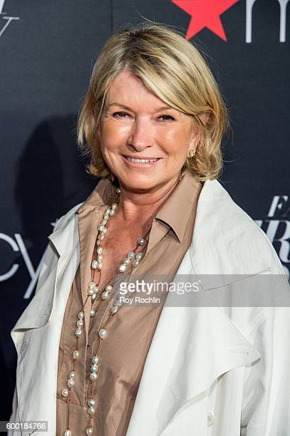 Martha Stewart attends Macy's Presents Fashion's front row during 2016 New York Fashion Week at The Theater at Madison Square Garden on September 7...