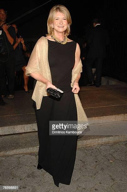 Martha Stewart attends Mercedes-Benz Fashion Week Spring 2008 Ralph Lauren Show at Central Park Conservatory Garden on September 8, 2007 in New York...