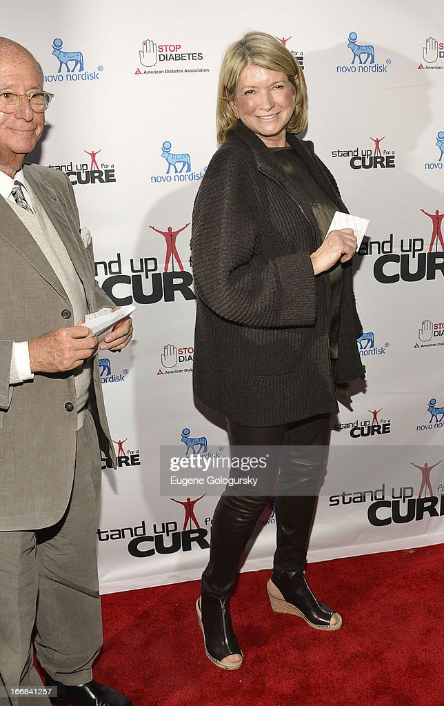 Martha Stewart attends Stand Up For A Cure 2013 at The Theater at Madison Square Garden on April 17, 2013 in New York City.