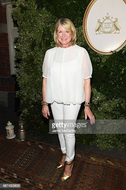 Martha Stewart attends the 10th Anniversary Celebration of the Jessica Simpson Collection at Tavern on the Green on September 9 2015 in New York City