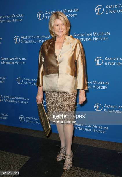 Martha Stewart attends the 2013 Museum Gala at the American Museum of Natural History on November 21 2013 in New York City