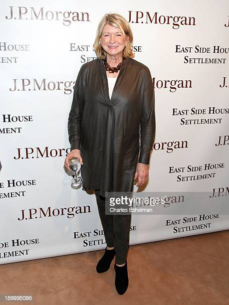 Martha Stewart attends the 2013 Winter Antiques Show Opening Night Party at Park Avenue Armory on January 24 2013 in New York City