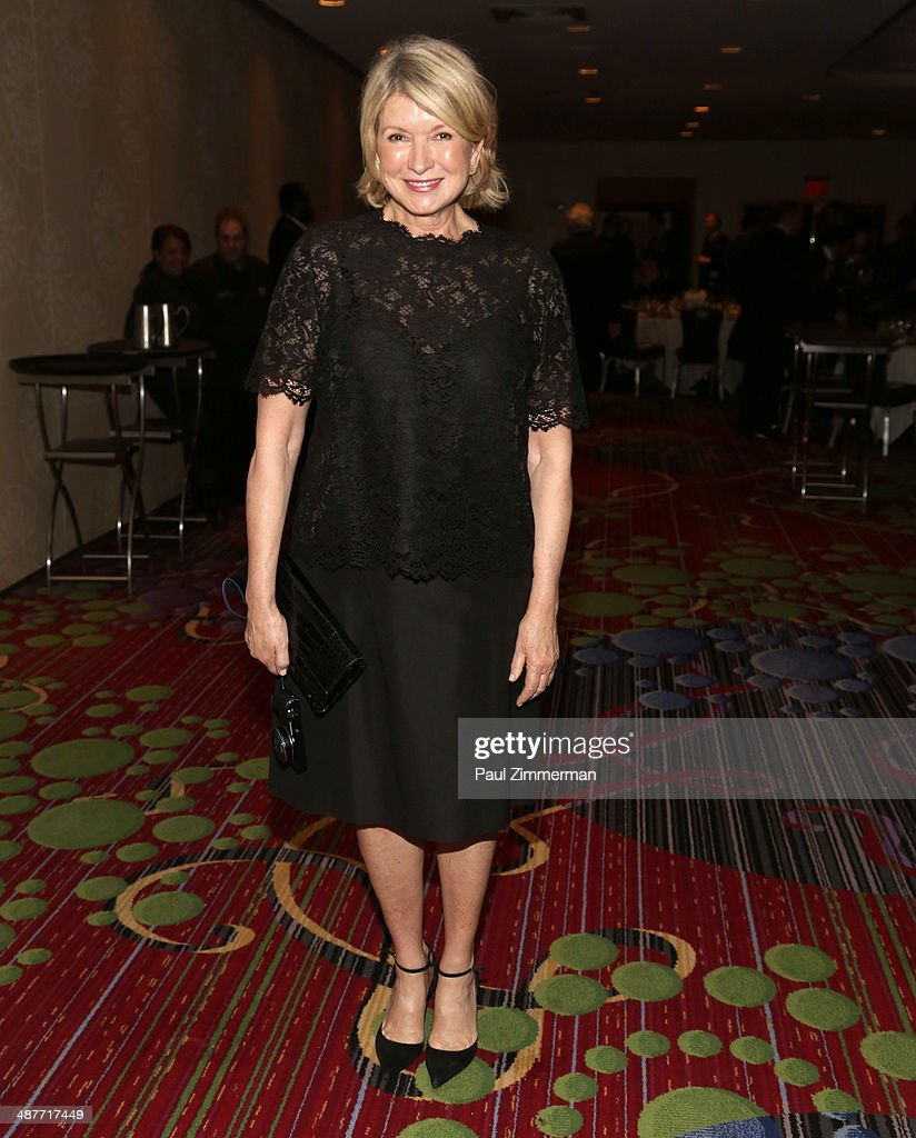 Martha Stewart attends the 2014 National Magazine Awards at The New York Marriott Marquis on May 1, 2014 in New York City.