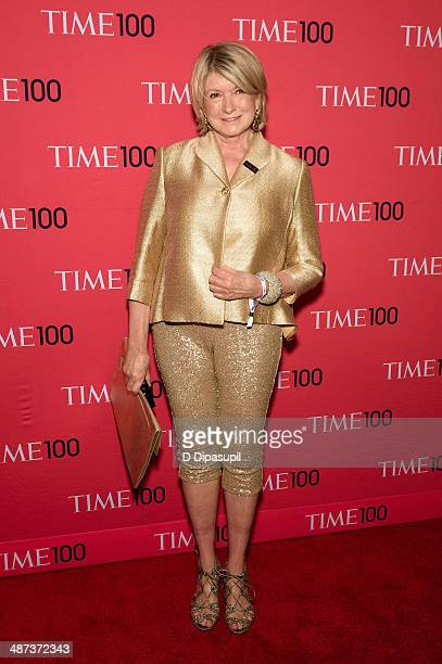 Martha Stewart attends the 2014 Time 100 Gala at Frederick P Rose Hall Jazz at Lincoln Center on April 29 2014 in New York City