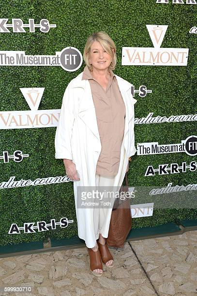 Martha Stewart attends the 2016 Couture Council of The Museum at FIT Honoring Akris Creative Director Albert Kriemler at Annual Luncheon at David H...