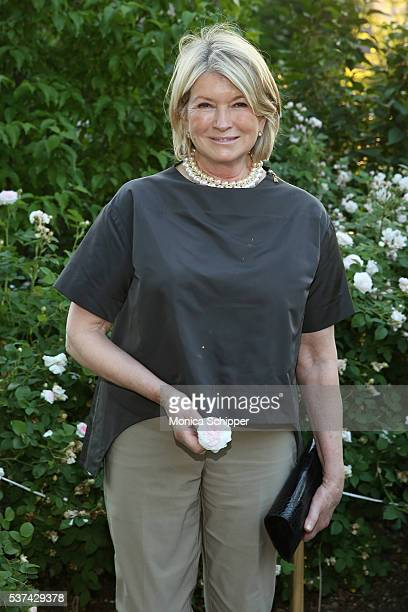 Martha Stewart attends the 2016 New York Restoration Project's Spring Picnic at MorrisJumel Mansion on June 1 2016 in New York City