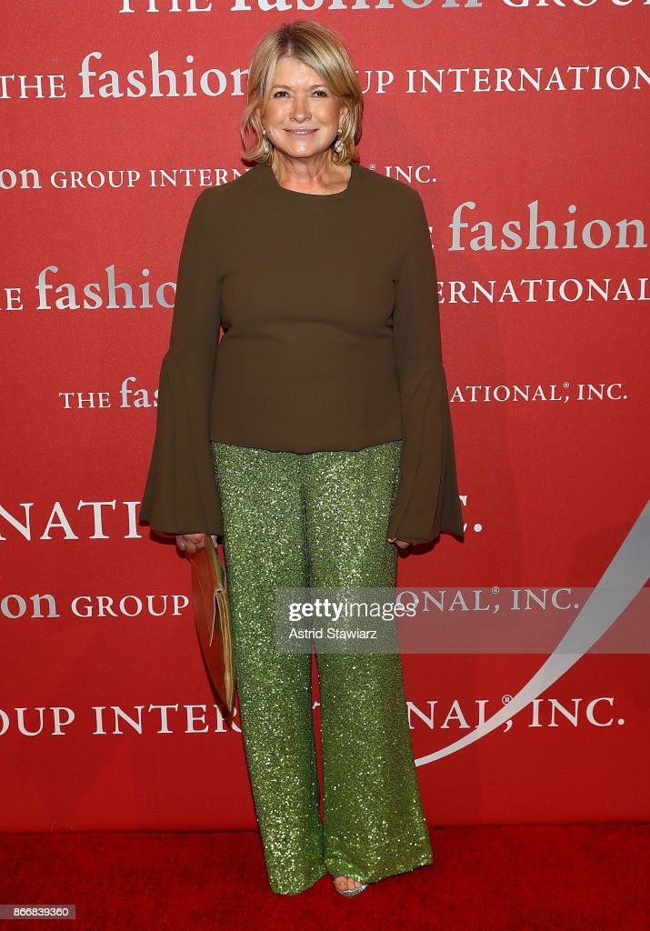 Martha Stewart attends the 2017 FGI Night Of Stars Modern Voices gala at Cipriani Wall Street on October 26, 2017 in New York City.