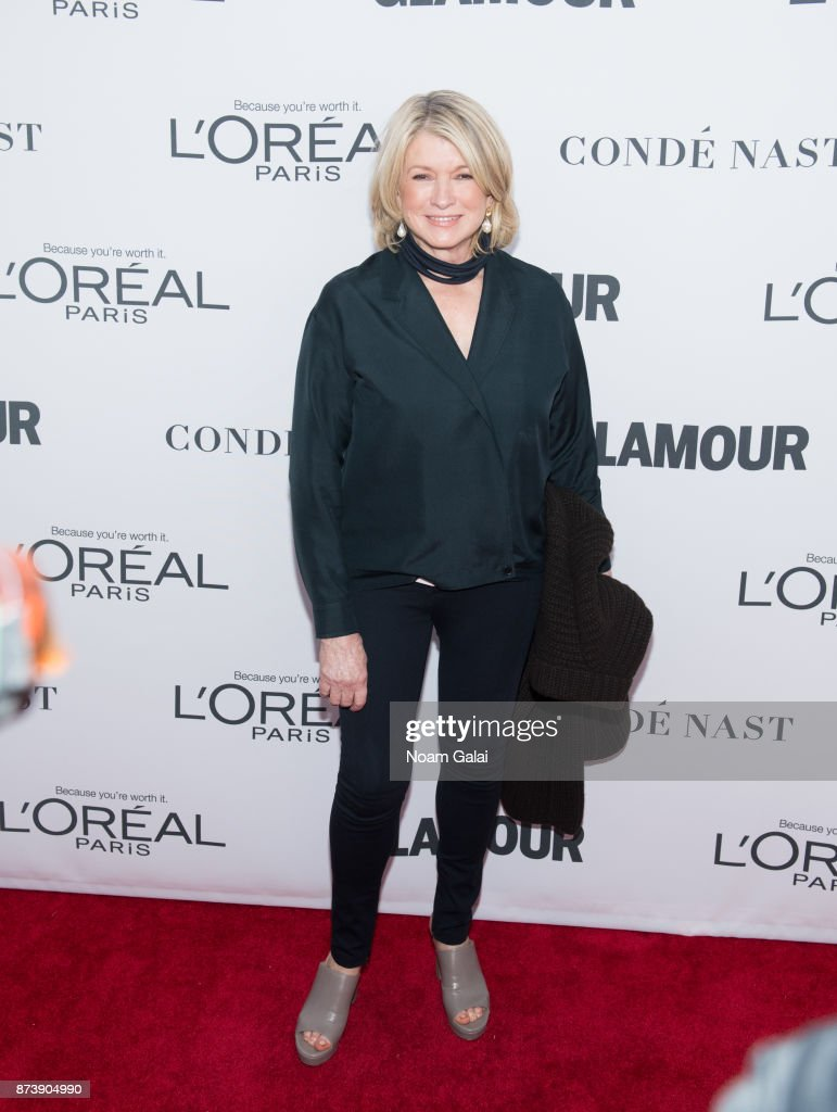 Martha Stewart attends the 2017 Glamour Women of The Year Awards at Kings Theatre on November 13, 2017 in New York City.