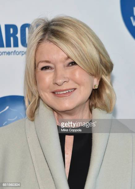 Martha Stewart attends the 2017 UN Women for Peace Association March In March Awards Luncheon at ONE UN New York on March 10 2017 in New York City
